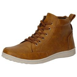 Kraasa Men's Tan Sneaker -7