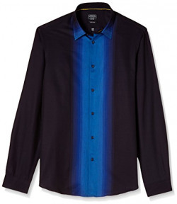 Arrow Newyork Men's Formal Shirt (8907378451453_ASSY1002_42_Navy)