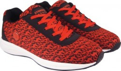 Action Synergy JQF0074 Black/Red Phylon Sole Sports Walking Shoes