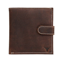 Hidekraft Men's Leather Wallet,Vintage Leather