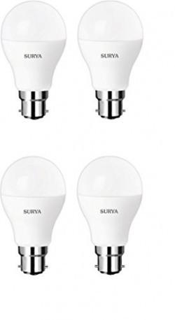 Surya LED Lamp, 9W Neo (810 Lumen, Pack of 4, White)