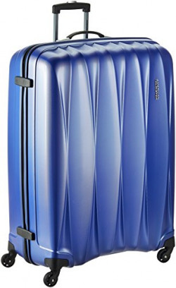 American Tourister Polycarbonate 79 cms Midnight Blue Hardsided Suitcase (38W (0) 11 003)