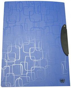 Solo RC- 603 Report Cover (Swing Clip/Transparent Top) A4 - Magic Square Blue, Pk of 10 pcs