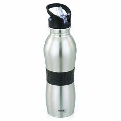 Pigeon Playboy Sport Water Bottle, 700ml, Silver