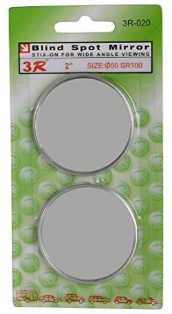 AutoSure Universal Blind Spot Mirror (Set of 2)