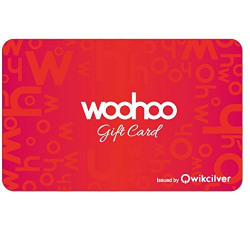 [  USE SBI Cards for 15% OFF  ] Woohoo Gift Card -Rs.500