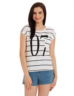 Unshackled Women's T-Shirt (US169_White_Large)