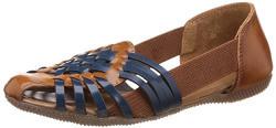 Catwalk Women's Blue Leather Fashion Sandals - 5 UK/India (37 EU)