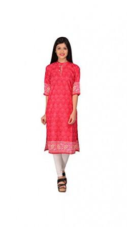 Nakoda Women'S Cotton Dress Material (201_Pink)