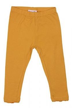 Chirpie Pie by Pantaloons Girl's Regular Fit Legging _Mustard_9-12 M