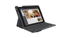 Logitech iPad Air 2 Integrated Bluetooth Keyboard Folio with iOS Shortcuts,Black