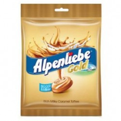 [First Shopping]Alpenliebe Gold Candy Caramel Flavour 156.4G Pack Of 1