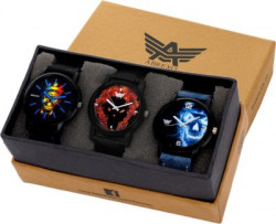 Abrexo Abx-0666 Combo Of Three (Formal+Casual+Party Wear) Maiden Analog Watch  - For Men