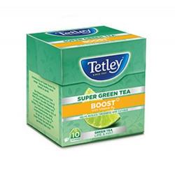 Upcoming @ 12 PM: Tetley Super Green Tea, Boost, 10 Tea Bags