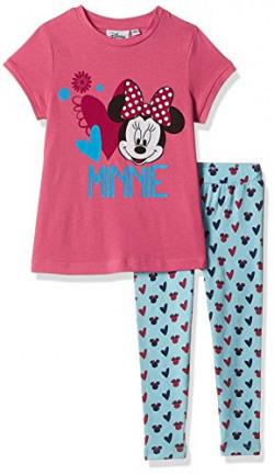 Disney's Minnie Mouse Girls' T-Shirt (GD16-517AKMSTTL_MULTI_2/3)