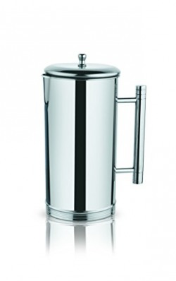 Classic Essentials Straight Stainless Steel Jug, 1.5 Litres, Steel