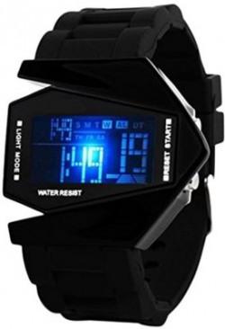 Fast India Shop skmei black Digital Watch  - For Men