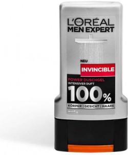 L'Oreal Paris Men Expert Invincible Body Face Hair Shower