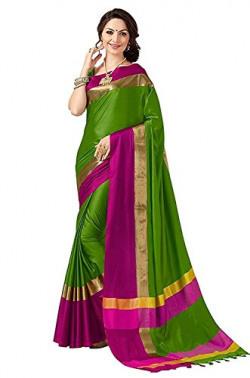 Vpl Enter Shop Cotton Saree (Vplmpb_245_39_Green And Pink)