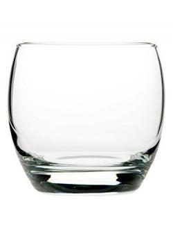 Pasabahce Barrel Whisky Glass ,340 ml, Set of 6
