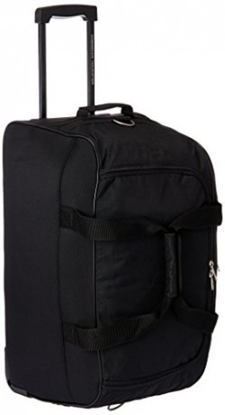 American Tourister Polyester Black Travel Duffle (Y65 (0) 09 367)