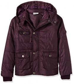 Cherokee Girls' Jacket (268123642_BURGUNDY_09Y_FS)