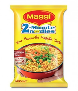 Maggi 2-Minutes Noodles Masala, 70g - Pack of 12
