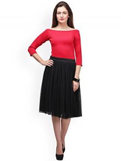 Vaankosh Fashion Women's Embroidered Gown style Party wear Lehenga (black)