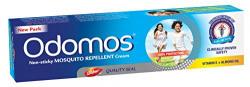 Dabur Odomos Non-Sticky Mosquito Repellent Cream (With Vitamin E & Almond) - 50g