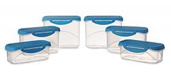 All Time Plastics Delite Container Set, 6-Pieces,