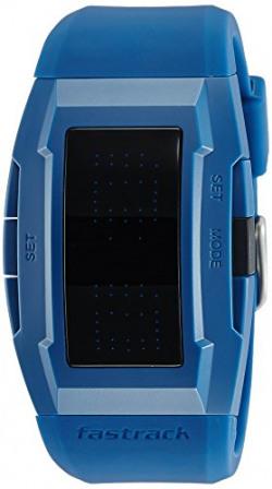Fastrack Casual Digital Black Dial Men's Watch - 38014PP02J