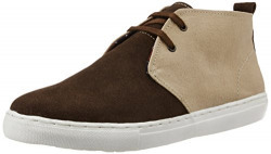 Bata Men's Stefan Brown Leather Sneeker - 9 UK/India (43 EU)(8244706)