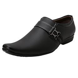 Anshul Fashion Men's Black 169 Slip on Office wear Formal Shoes
