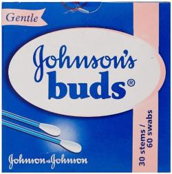 Johnson's Buds Gentle (60 swabs)
