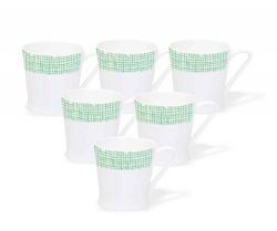 JCPL Peter 228 Coffee Mug Set, 150ml, Set of 6 starting at Just 170