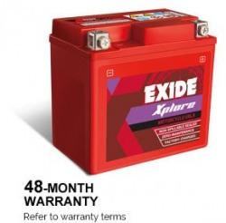 XLTZ7 Exide Sealed Battery for Bikes - (No Maintenance)