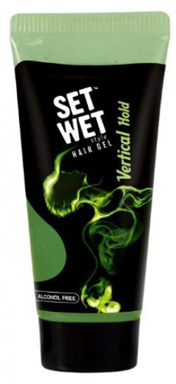 Set Wet Hair Gel Vertical Hold, 50ml