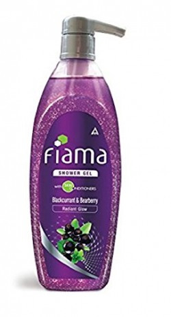 Fiama Shower Gel, Bearberry and Blackcurrant, 550ml