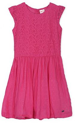 Fs Mini Klub Girls' Regular Fit Dress (88Kgodr0518 Fuschia_12-7 - 8 Years, Pink, 7 - 8 Years)