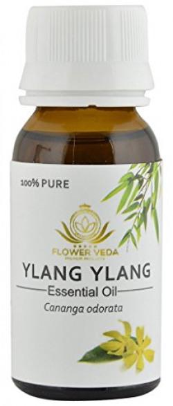 Flower Veda 100% Natural Therapeutic Grade Essential Oil - Ylang Ylang, 30ml