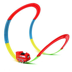 Wembley Paw Swing Train Set - Swinging and Wall Climbing with Lights