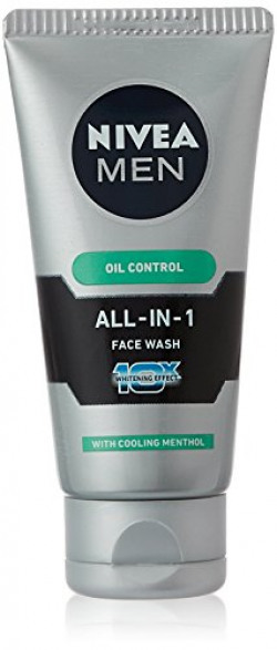 Nivea Men All in 1 Face Wash Whitening Effect, 50g