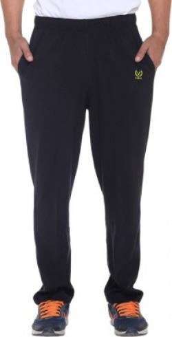 Vimal Solid Men's Black Track Pants at just 299