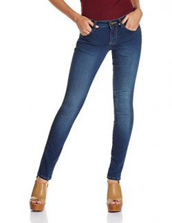 Wrangler Women's Tapered Jeans (W19839W2278E_Stratch Indigo _30)
