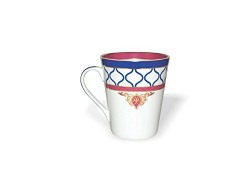 Sanjeev Kapoor Noor 2 Bone China Milk Jug, 350ml/6cm, Multicolour