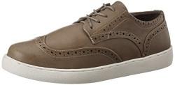 Carlton London Men's Norino Grey Sneakers - 6 UK/India (40 EU)