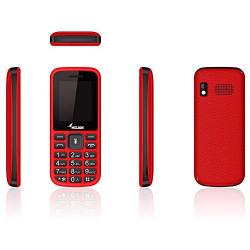 Melbon Dude 02 Mobile Phone (Dual Sim, Red)