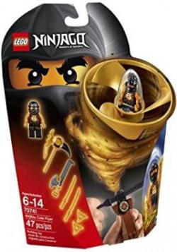 Lego Ninjago Airjitzu Cole Flyer 70741 Building Kit