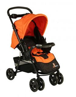 Sunbaby Posh Stroller (Orange)