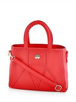 Mark & Keith Women Red Handbag ( MBG 0293 RD )